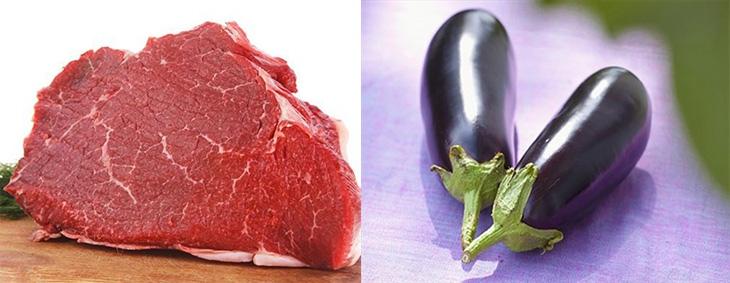 cà tím xào thịt bò 2