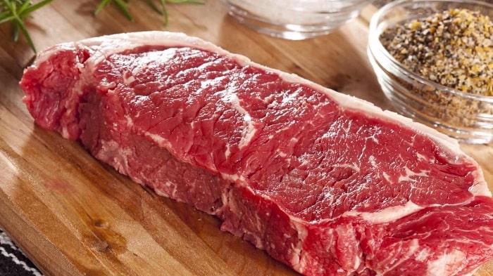cách chọn nguyên liệu thịt bò xào hoa thiên lý ngon 2