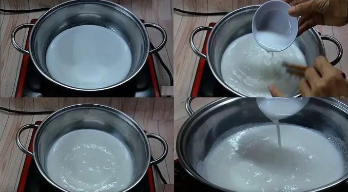 cách làm bánh chuối hấp nước cốt dừa 5