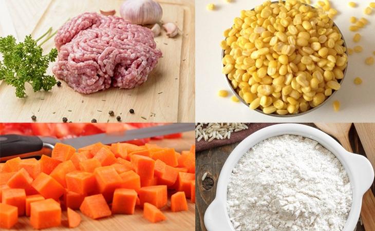 cách làm bánh gối hấp 1