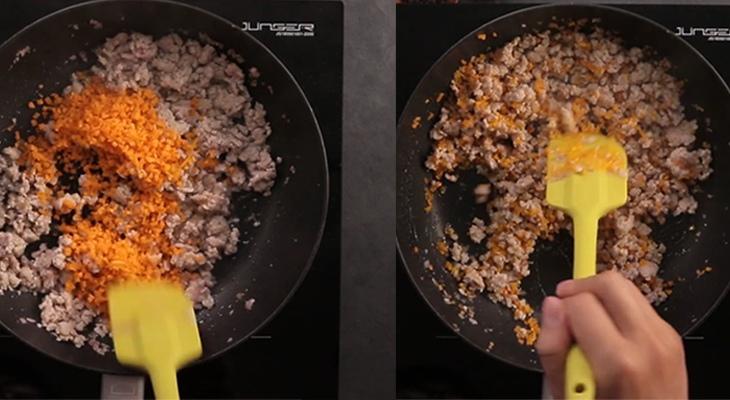 cách làm bánh gối hấp 2