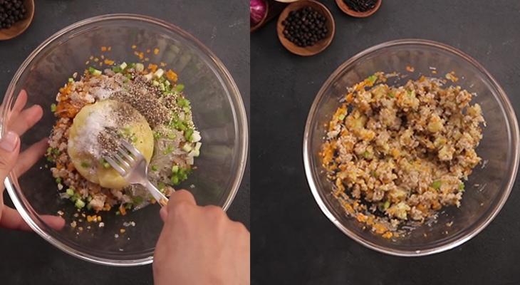 cách làm bánh gối hấp 3
