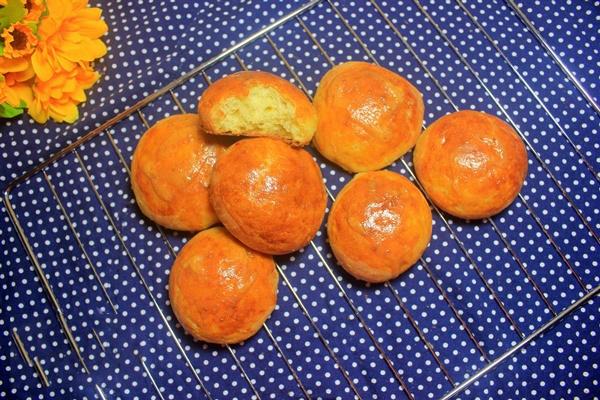 cách làm bánh khoai lang nướng 6