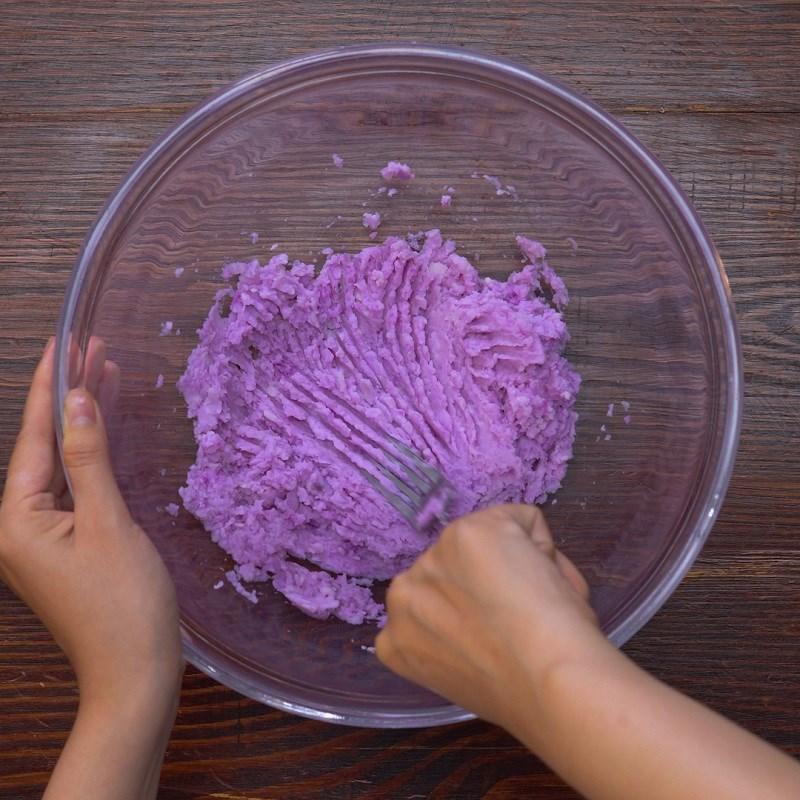 cách làm bánh khoai mỡ chiên xù 2