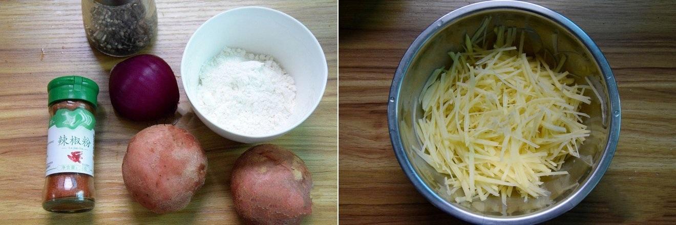 bánh khoai tây chiên sợi 1