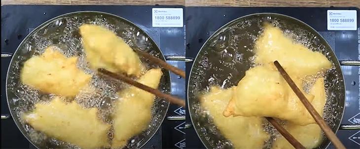 cách làm bánh khoai tây nhân thịt 9