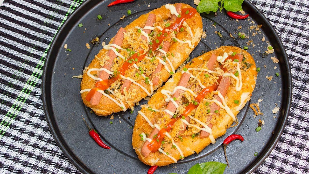 cách làm bánh mì nướng muối ớt bằng lò nướng 5