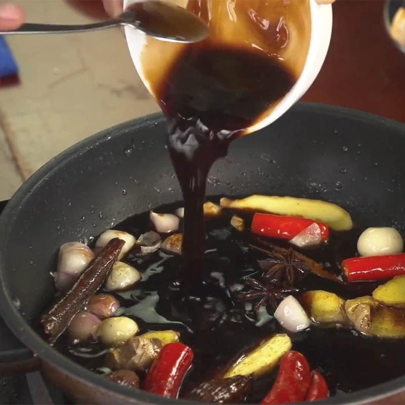 bắp bò rim xì dầu 3