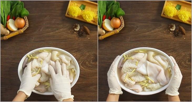 cách làm lòng bò nấu lá giang 3