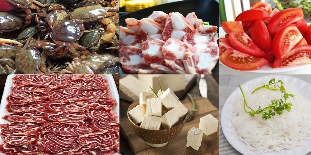 cách nấu lẩu riêu cua bắp bò hà nội 1