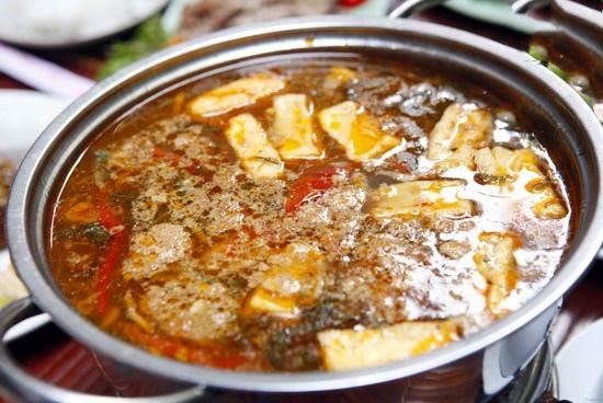 cách nấu lẩu riêu cua bắp bò hà nội 9