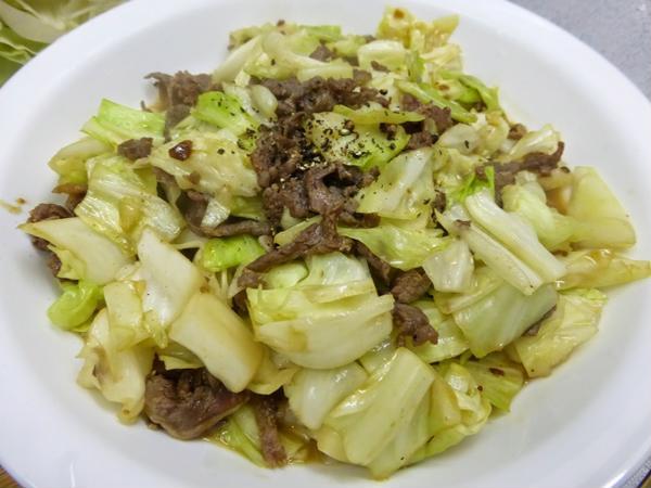 cải thảo xào thịt bò 5