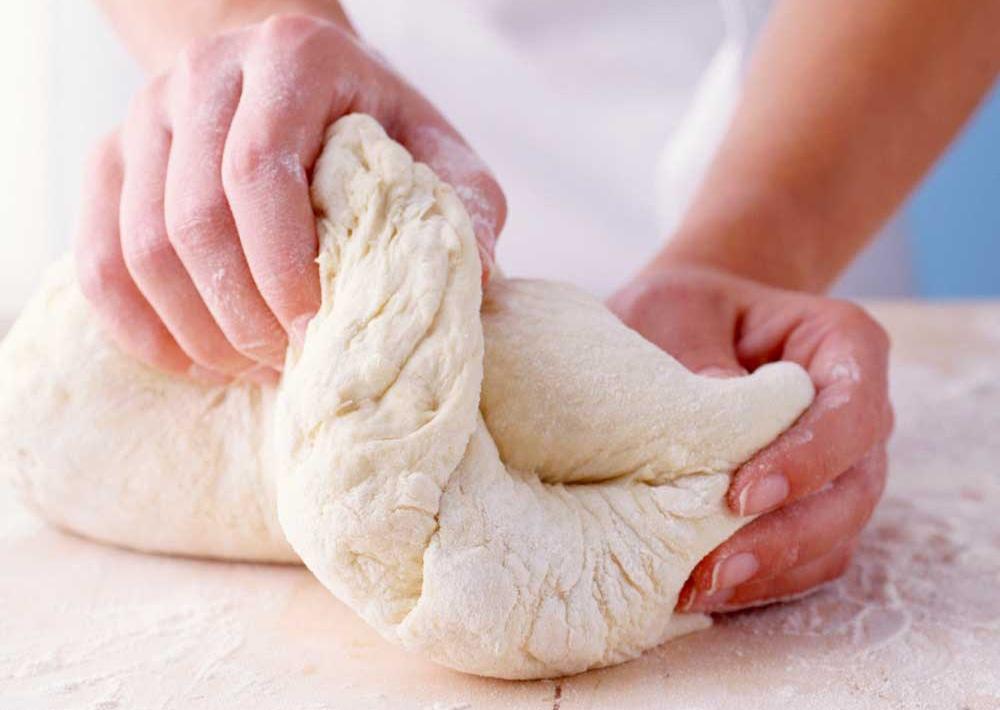 chọn bột làm bánh gối 1