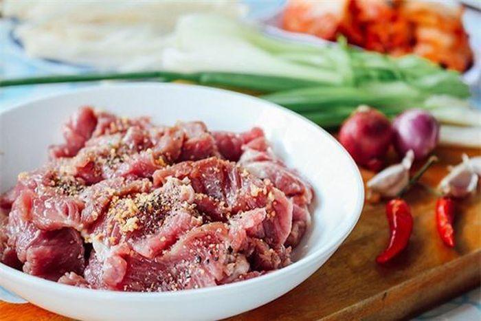 măng khô xào thịt bò 3