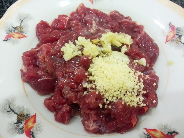 măng tươi xào thịt bò 5