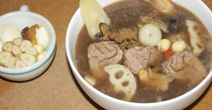 thịt bò hầm thuốc bắc