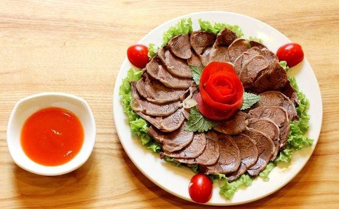 thịt bò hấp 1