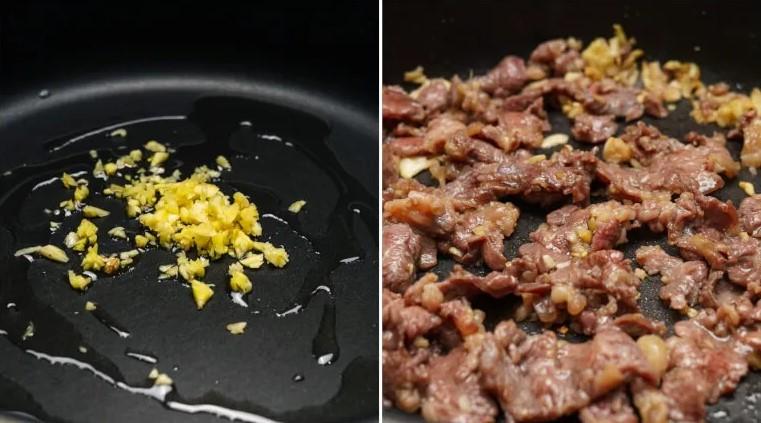 thịt bò xào cà rốt hành tây 3