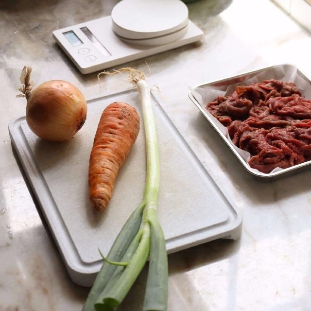 thịt bò xào cà rốt kiểu Hàn 1