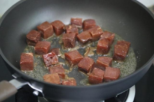 thịt bò xào đậu bắp 6