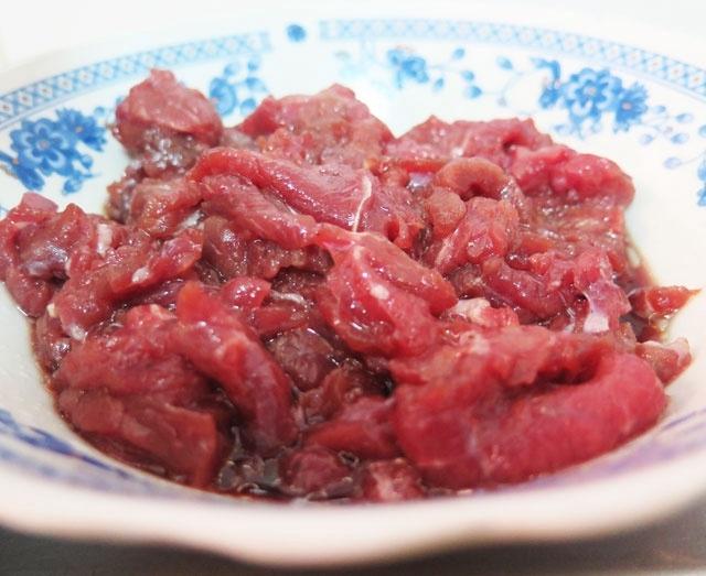thịt bò xào đậu rồng 2