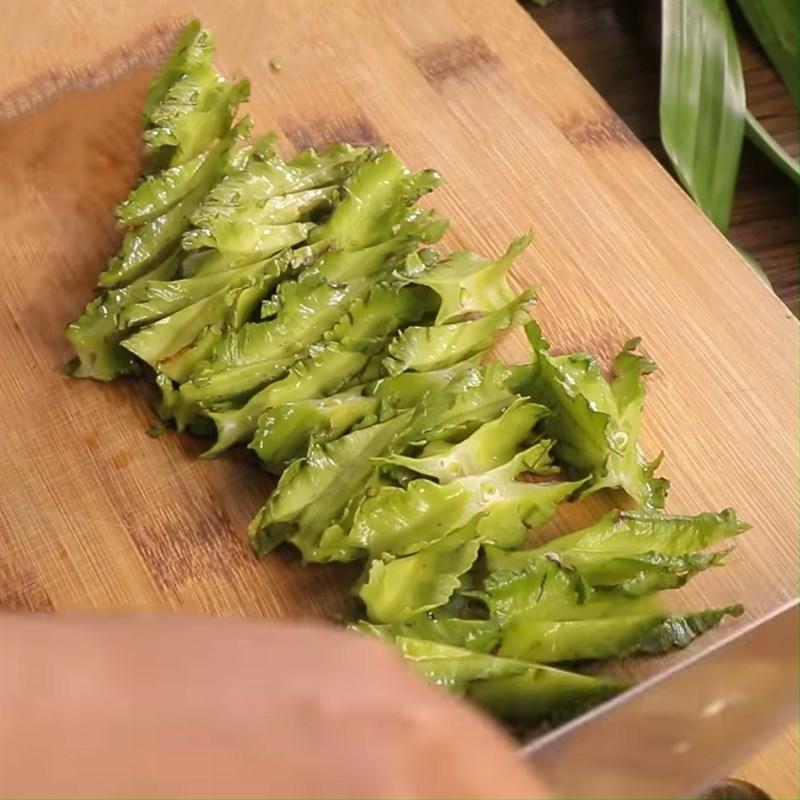thịt bò xào đậu rồng nấm 2