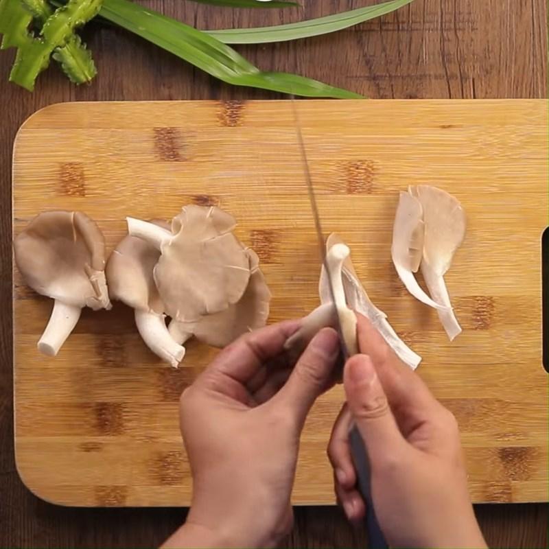 thịt bò xào đậu rồng nấm 3