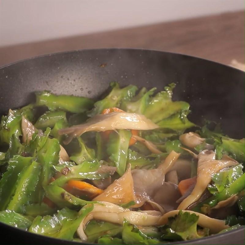 thịt bò xào đậu rồng nấm 8