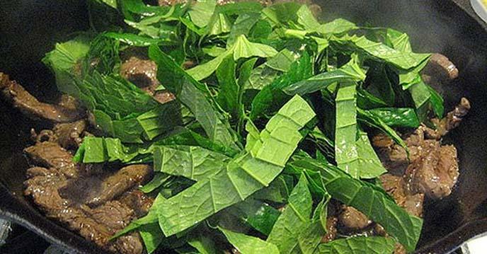 thịt bò xào lá lốt 4