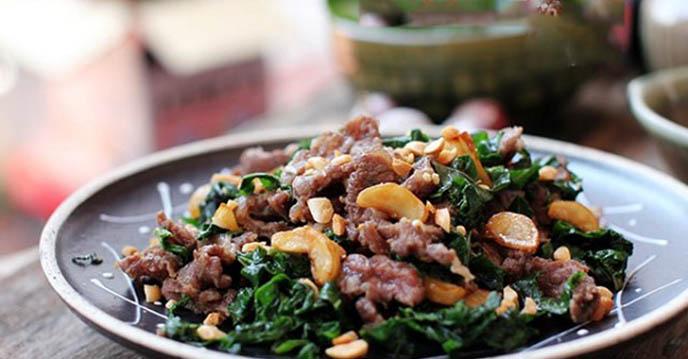 thịt bò xào lá lốt 5