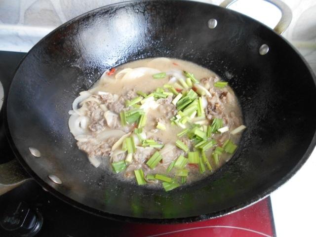 thịt bò xào măng chua củ 6