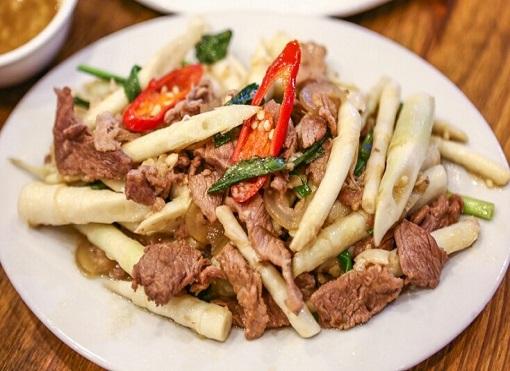 thịt bò xào măng trúc 5