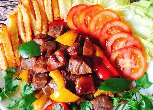 thịt bò xào ớt chuông 1