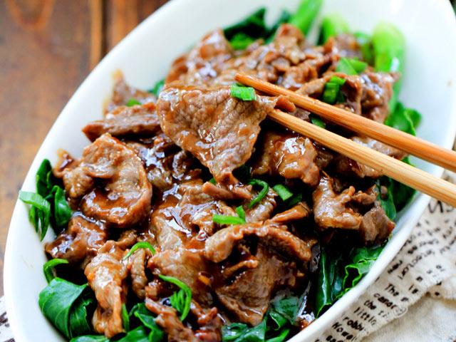 thịt bò xào rau cải 7