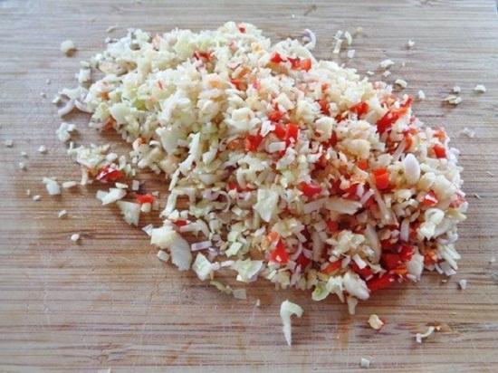 thịt bò xào sả ớt rau mầm 1