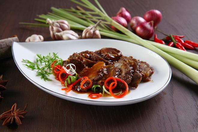 thịt bò xào sa tế 1