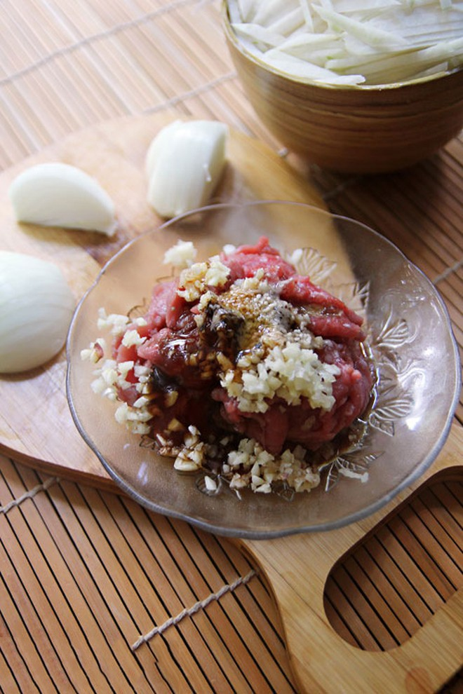 thịt bò xào su hào 5