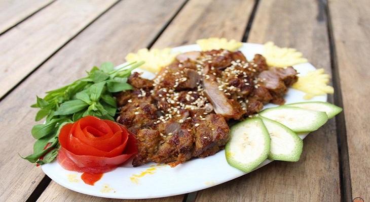 Thịt dê nướng 1
