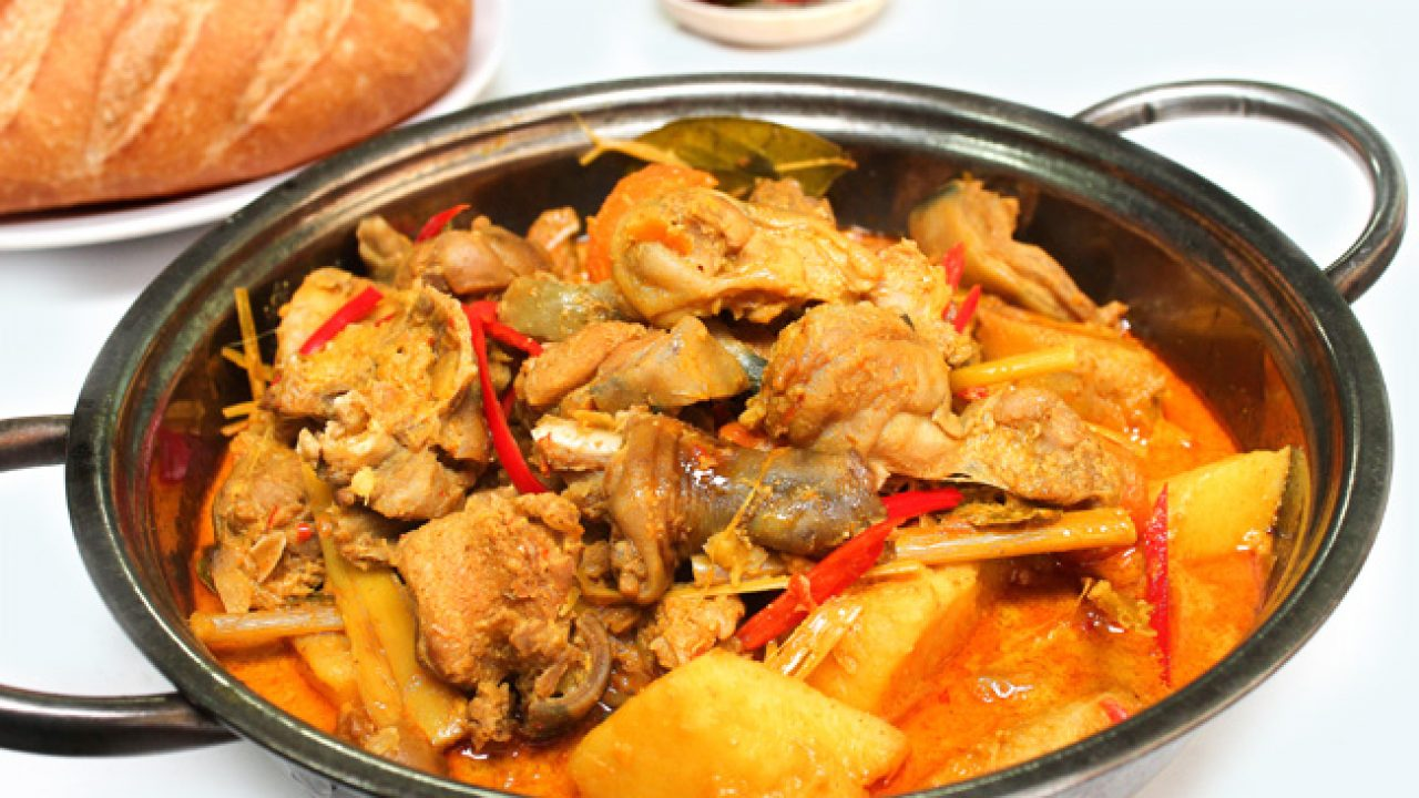 thịt thỏ nấu cà ri