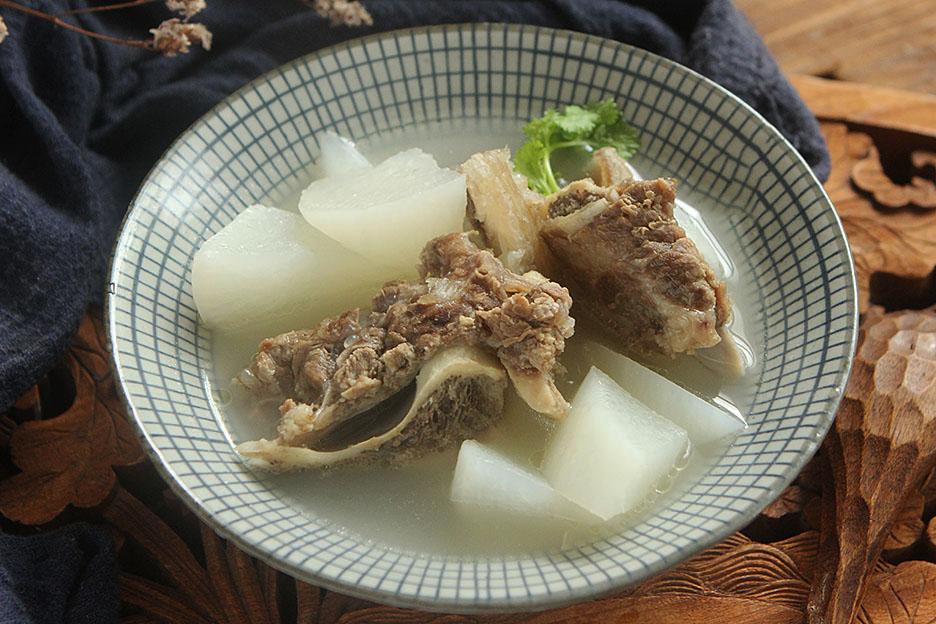 cách làm sườn bò hầm củ cải Trung Quốc 7
