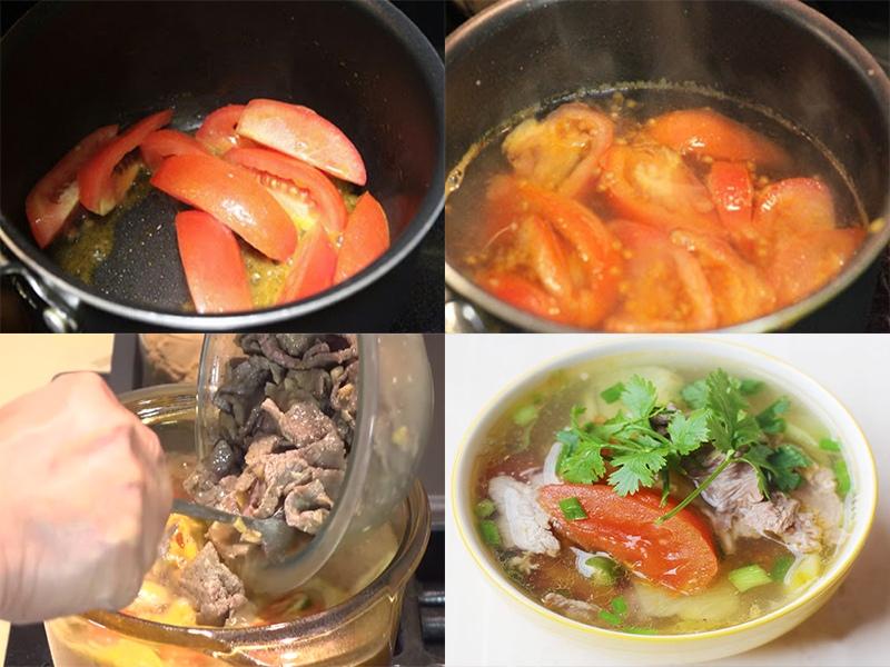 cách làm thịt bò nấu cà chua 3