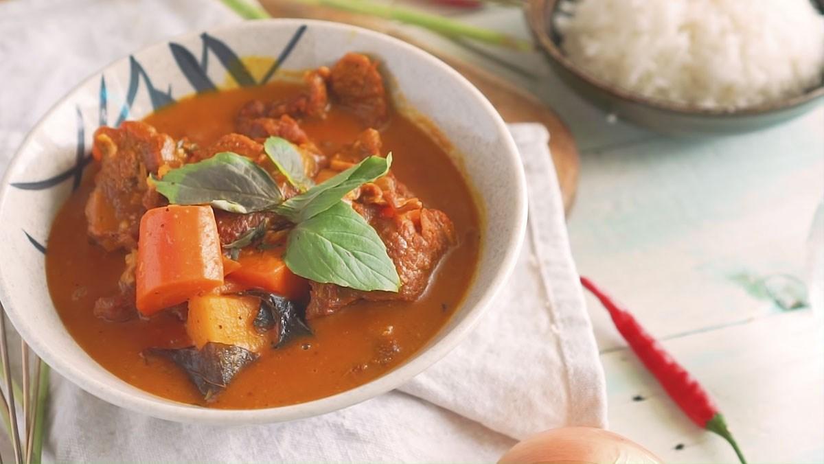 cách làm thịt bò nấu cà ri 1