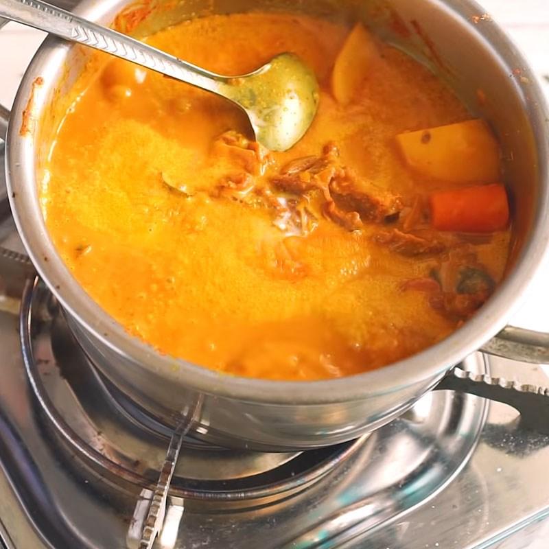 cách làm thịt bò nấu cà ri 9