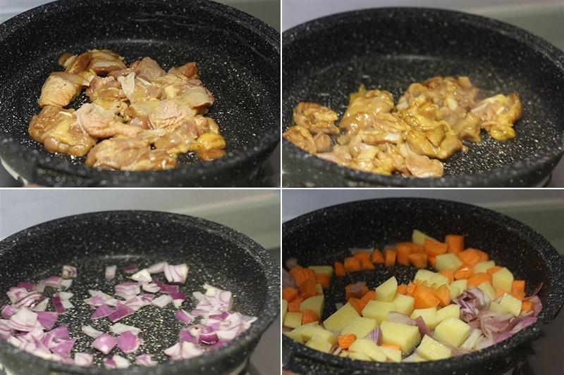 cách làm thịt bò nấu cà ri kiểu Nhật 3