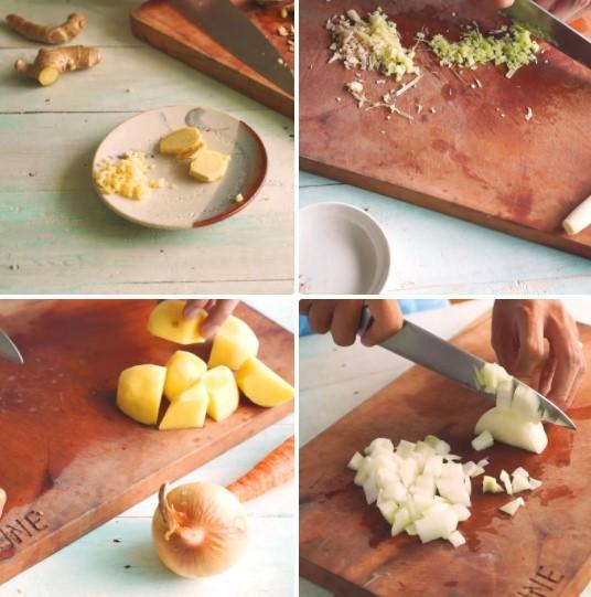 cách làm thịt bò nấu cà ri 4
