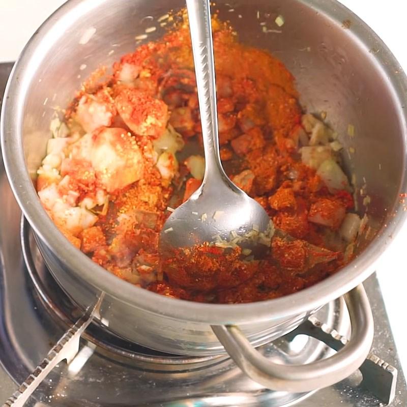 cách làm thịt bò nấu cà ri 6