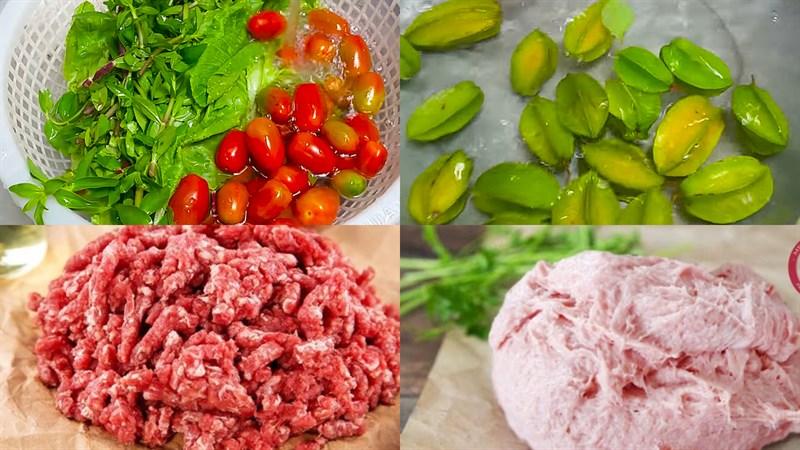 cách làm thịt bò nấu khế giò sống 1