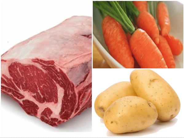 cách làm thịt bò nấu khoai tây 2