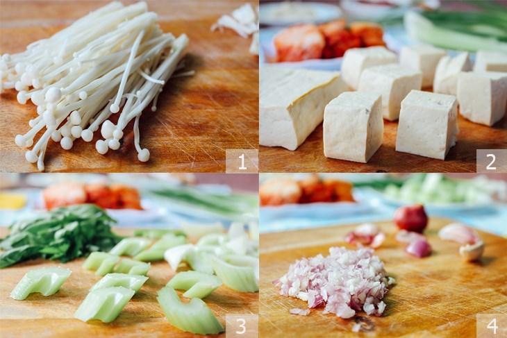 cách làm thịt bò nấu kim chi 4