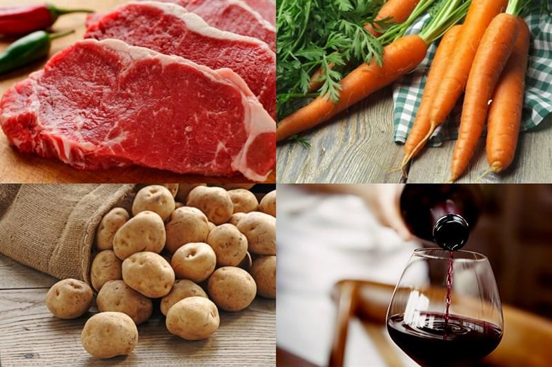 cách làm thịt bò nấu sốt vang 2